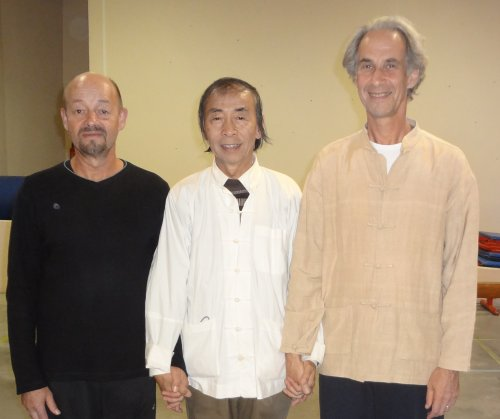 Nos enseignants : Luc, Mr SU, Vincent